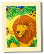 ACEO: Merry lion
